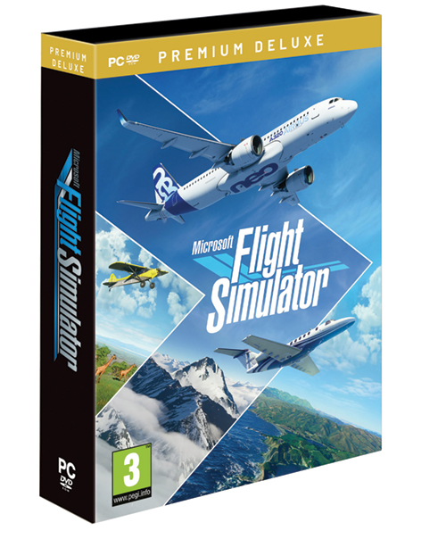 Microsoft Flight Simulator 2020 DVD - Premium Deluxe Edition