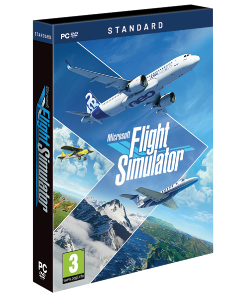 Microsoft Flight Simulator 2020 DVD - Standard Edition