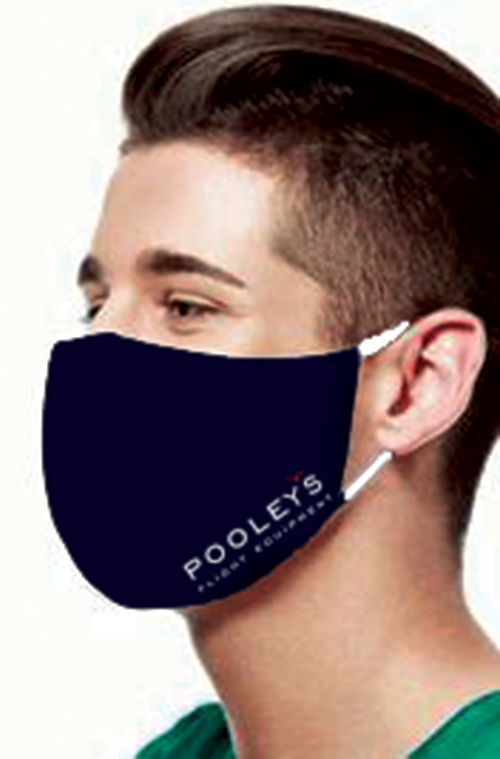 Pooleys Double Layer Reusable & Washable Face Mask