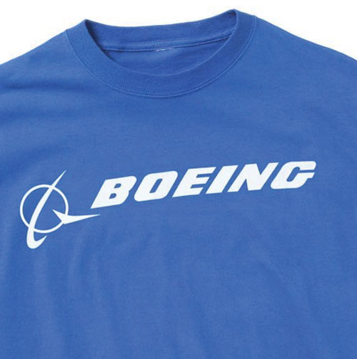 Boeing Signature T-Shirt - Short Sleeve