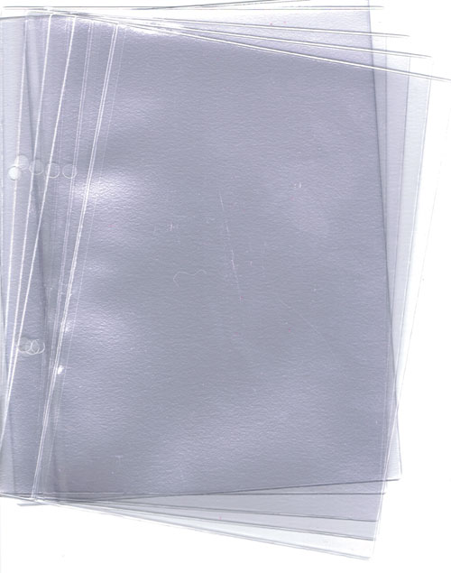 A5 Plastic Wallets x 5 (fits FB-7 kneeboard)
