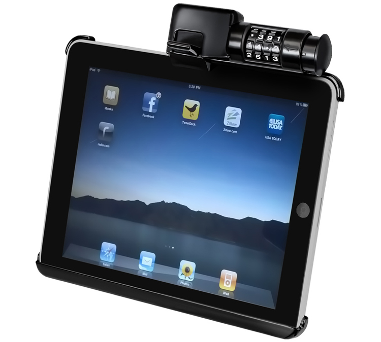 Holder for Apple iPad - Lockable (all generations)