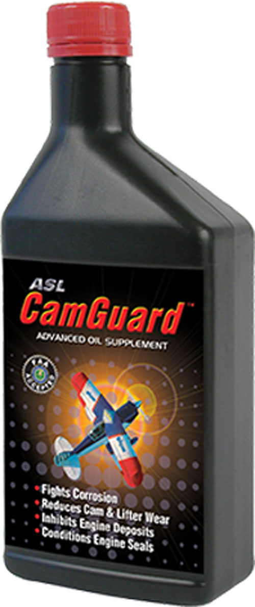 ASL CamGuard™ Aviation ADVANCED AVIATION ENGINE OIL SUPPLEMENT