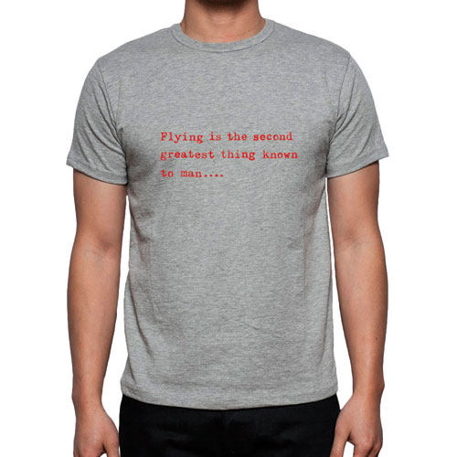 Greatest Thing Flight T-Shirt – GREY