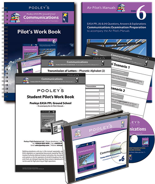 CD 6 Pooleys Air Presentations - Communications PowerPoint Pack
