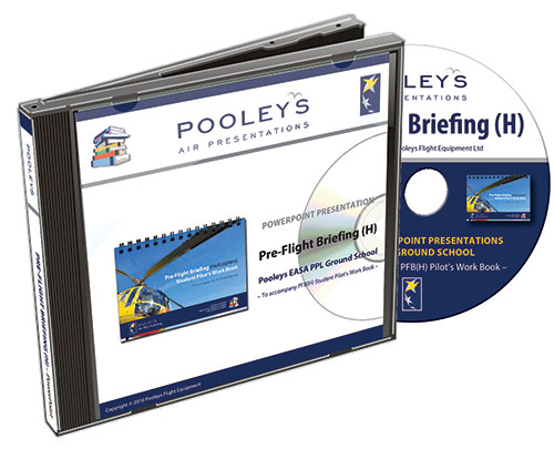 Pooleys Air Presentations - Pre-Flight Briefing (Helicopter) Powerpoint CD Rom