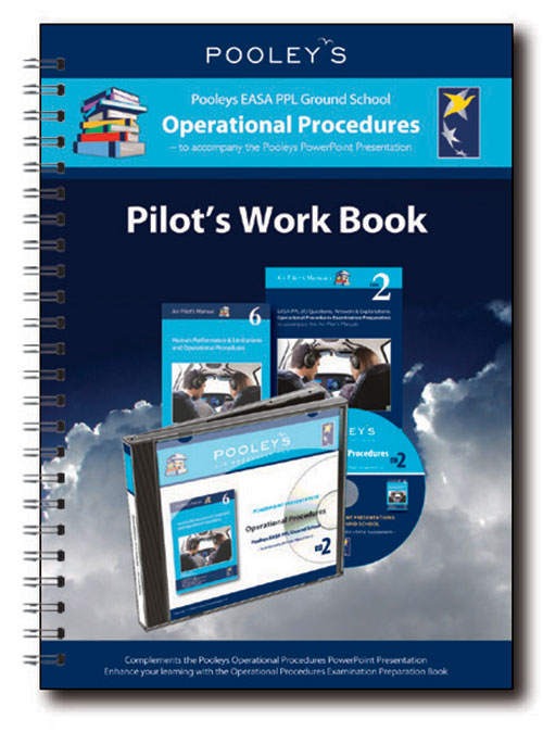 Pooleys Air Presentations – Operational Procedures Instructor Work Book (Full-colour)