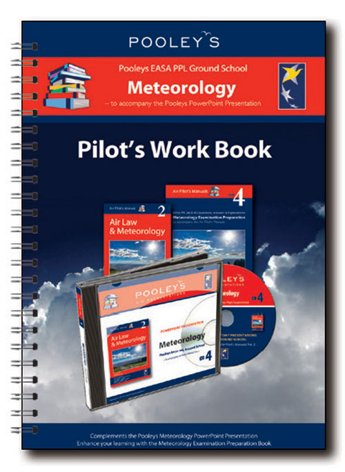 Pooleys Air Presentations – Meteorology Instructor Work Book (full-colour)