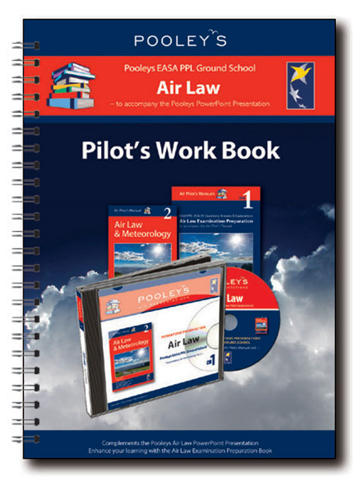 Pooleys Air Presentations – Air Law Instructor Work Book (Full-colour)