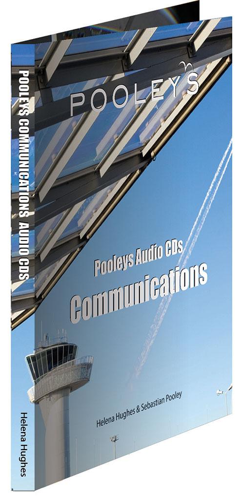Pooleys Private Pilot's Licence - Communications Audio (5 x CDs)