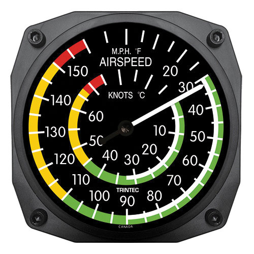 Classic Airspeed Thermometer – 6 inch