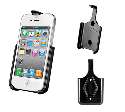Complete Kit with Holder for Apple iPhone 4 or iPhone 4S