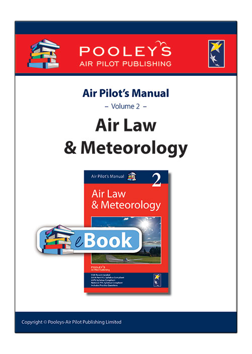 Air Pilot's Manual Volume 2 Aviation Law & Meteorology – eBook only