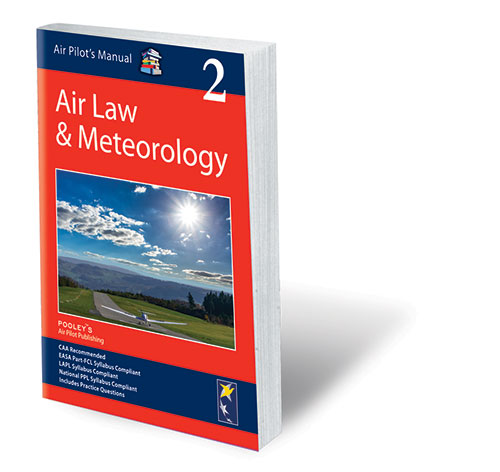 Air Pilot's Manual Volume 2 Aviation Law & Meteorology – Book only