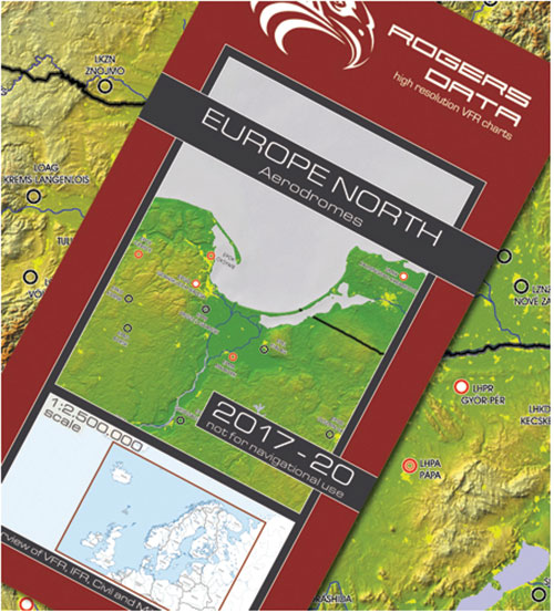 European Aerodromes North – Panorama Chart 1:2.500.000, 2017-2020