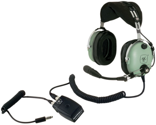 David Clark H10-13HXL Helicopter Headset + FREE Headset Bag