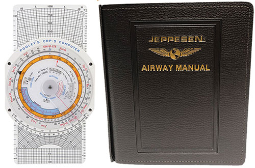 Combination CRP-5 and Jeppesen EASA-FCL General Student Pilot Route Manual GSTPRM