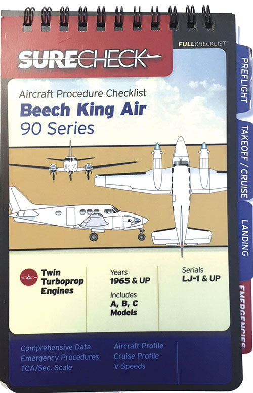 Beech KingAir 90 Checklist