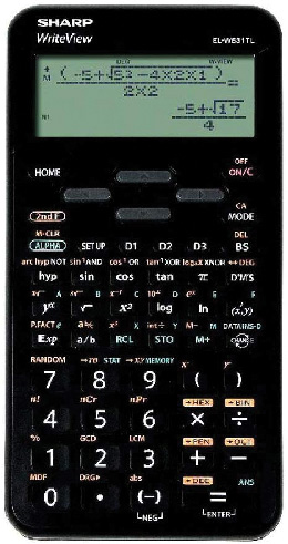 Sharp ELW-531 Scientific Calculator