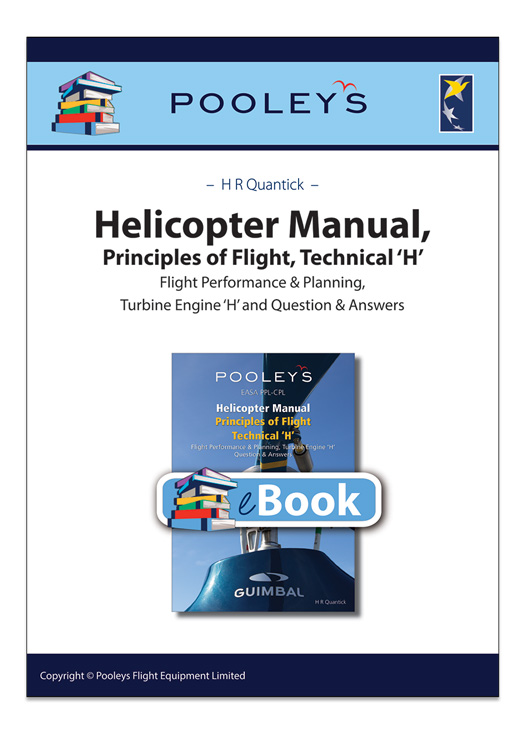 EASA PPL-CPL Helicopter Manual, Principles of Flight Technical 'H' – eBook