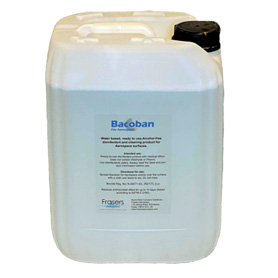 Bacoban for Aerospace 1%  – 10 Litre Container