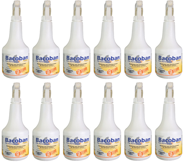 Bacoban for Aerospace 1%  – Case of 12 x 500ml bottles