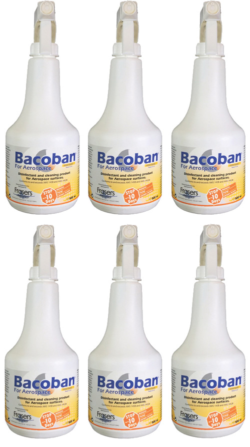 Bacoban for Aerospace 1%  – Case of 6 x 500ml bottles